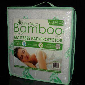 Aloe Vera Mattress Pad/Protector